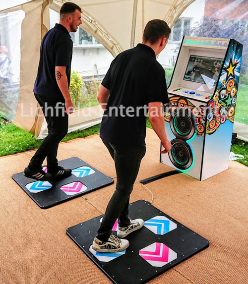 Dance Mats Arcade Game - Safe for Social Distance Events
