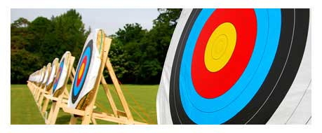 Archery hire and archery taster sessions for corporate events and fun days
