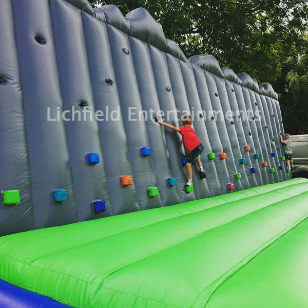 Inflatable Bouldering Wall for hire