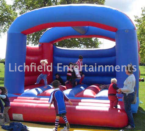 Adult and childrens Bouncy Castle hire from Lichfield Entertainments UK