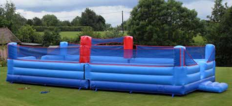 Bouncy Beach Volleyball Court for hire from Lichfield Entertainments UK