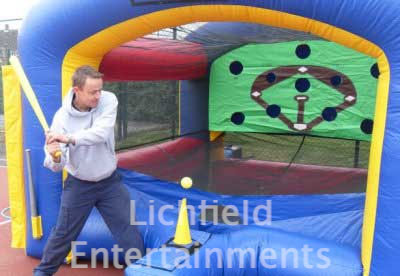 Company sports day games hire - Baseball