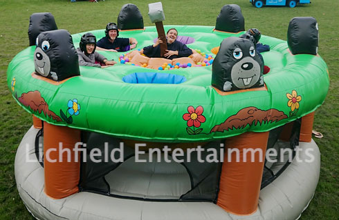 Inflatable Games for your conference entertainments from Lichfield Entertainments UK