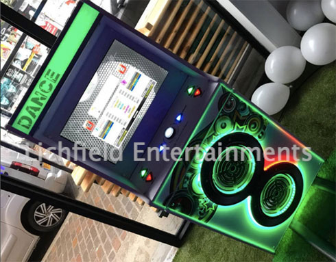 Ice breaker games hire - Dance Machine game