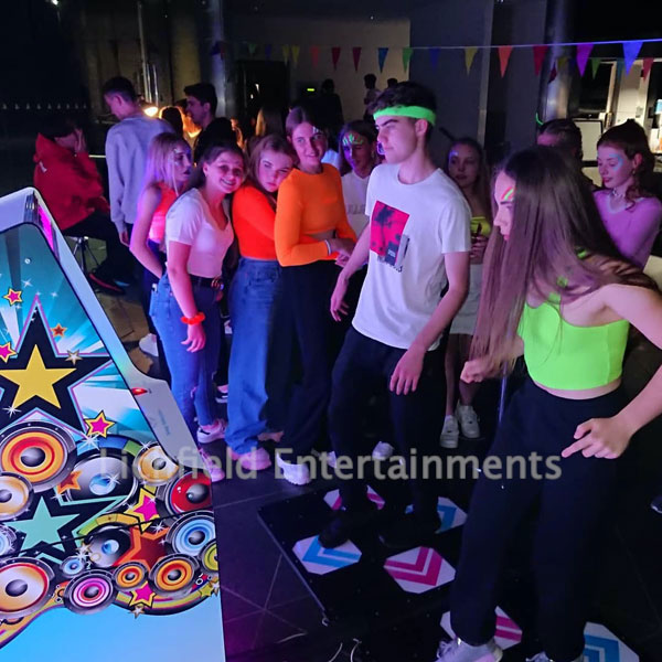 Two player Dance Machine hire in the Midlands area