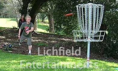 Disc Golf hire for corporate and team building events