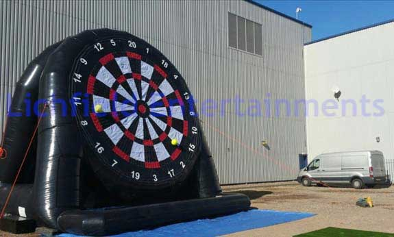 Football Darts and other football entertainments for hire