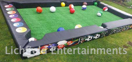 Footpool game hire for corporate events, promotions, and parties