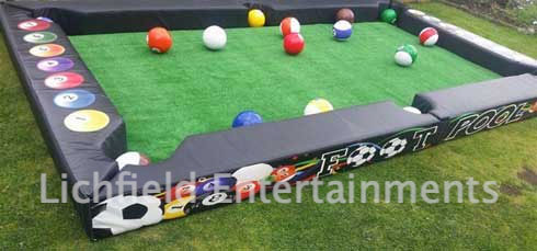 Ice breaker games hire - Footpool.