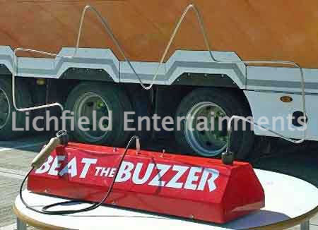 Giant Buzzwire game for hire