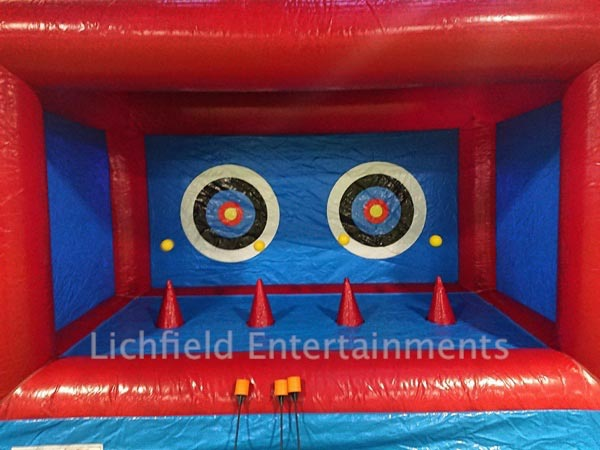 Inflatable Hover Archery hire for corporate events and fun days