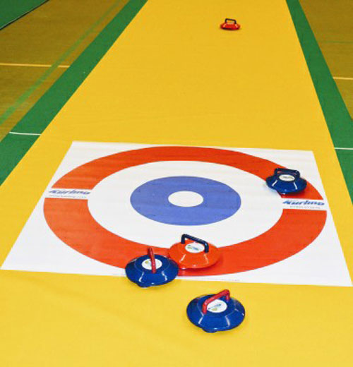 Indoor Curling for hire from Lichfield Entertainments UK