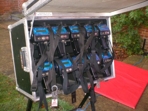 Inflatable Laser Tag game for hire for corporate events, fun days, and parties