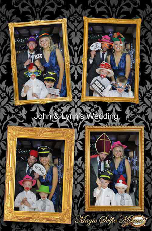 Magic Selfie Mirror for hire in Staffordshire from LichEnts