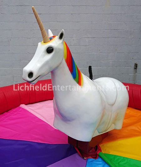 All ages Rodeo Unicorn Ride for hire