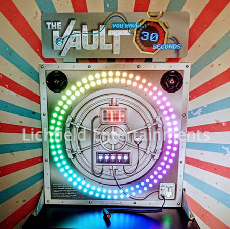 The Vault eye-hand reaction speed game for hire