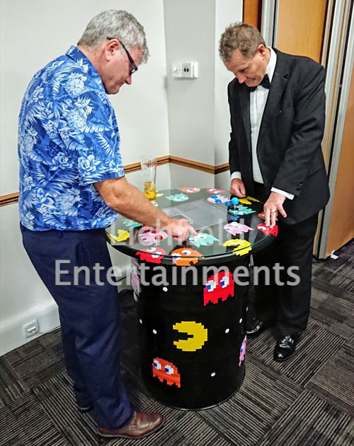 Retro Arcade Table game for hire from Lichfield Entertainments UK