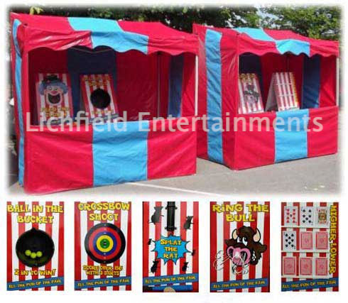 Side Stall Fairground games for hire
