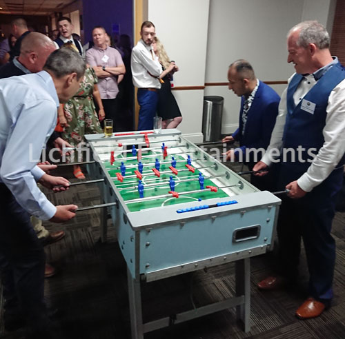 Foosball for hire