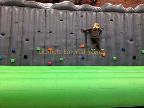 Inflatable Climbing Wall hire