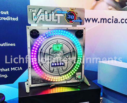 The Vault Stop the Light game - Exhibition Stand Attraction and Game Hire.