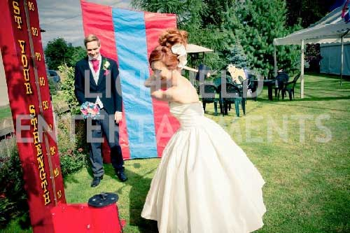 Wedding reception games hire from Lichfield Entertainments UK